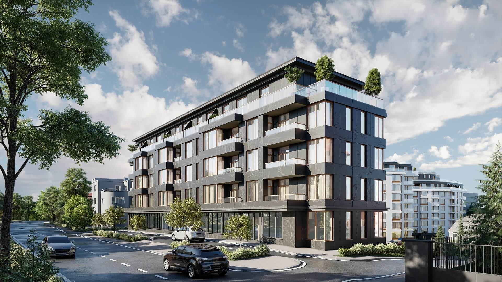 Residential complex «Giatsynt-luks» by Nove Misto developer, Lviv, Ukraine